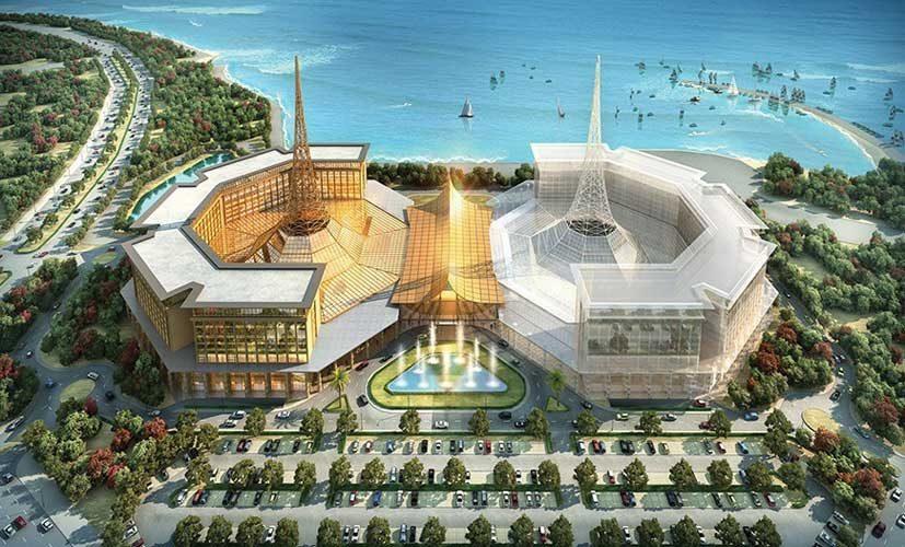 Строительство казино в Приморье продолжается