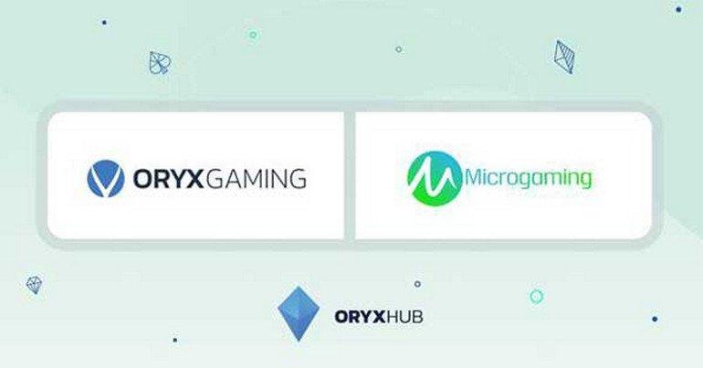 На площадке Microgaming появятся игры от ORYX